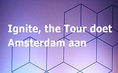 Op 20 en 21 maart landde de marketing- en evenementenorganisatie van Microsoft in de RAI Amsterdam voor Microsoft Ignite, The Tour. - Meeesters in IT