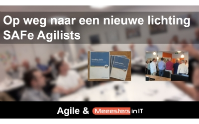 Safe Agilist training bij Meeesters in IT - Meeesters in IT